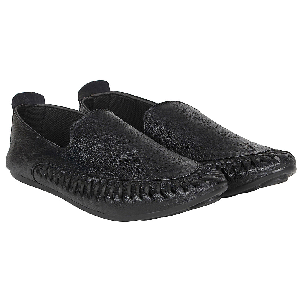 Kraasa 4171 Black  Casual Loafers for men