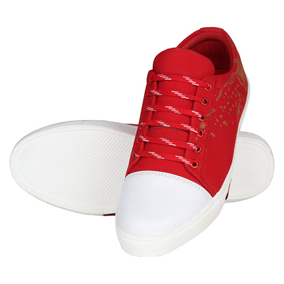 Kraasa 4123 Red Sneakers