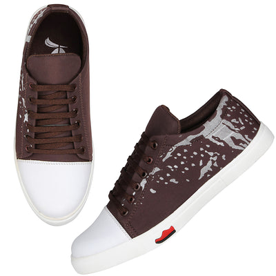 Kraasa 4123 Brown Sneakers