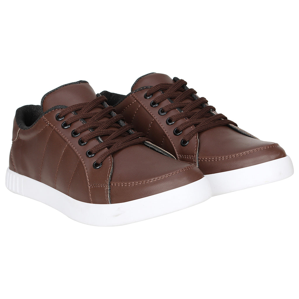 Kraasa 4139 Brown Sneakers