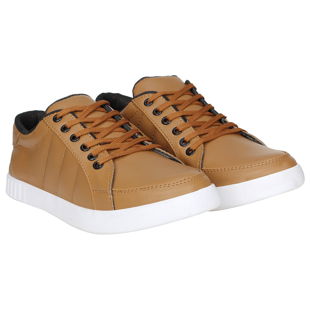 Kraasa 4139 Tan Sneakers