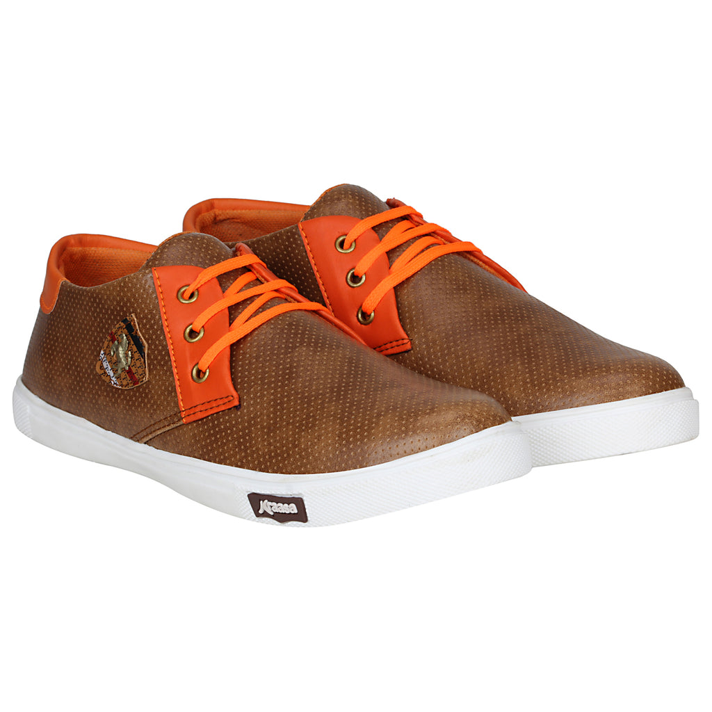 Kraasa 4169 Tan Casual Sneakers