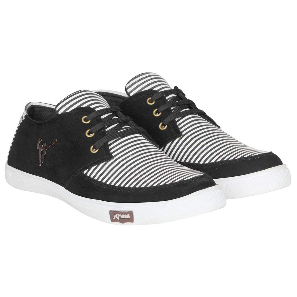 Kraasa 4170  Black Casual Sneakers for Men