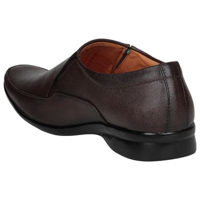 Kraasa 1083 Brown Formal Shoes