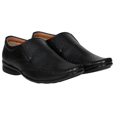 Kraasa 1082 Black Formal Shoes