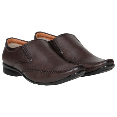 Kraasa 1082 Brown Formal Shoes