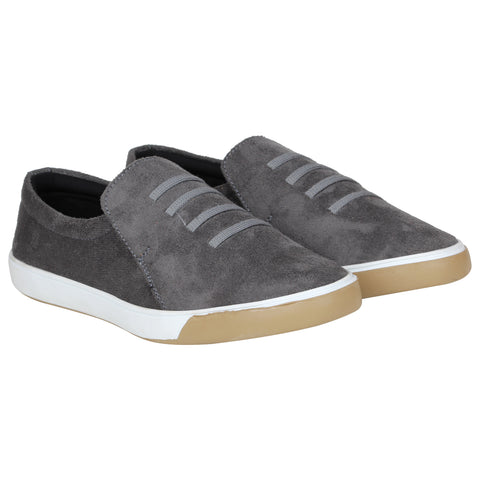 Kraasa 4164 Grey Casual Loafers