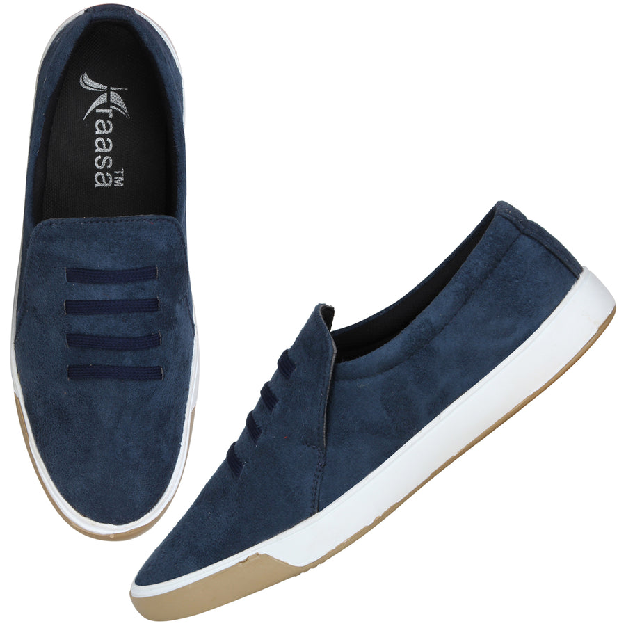 Kraasa 4164 Navy Casual Loafers