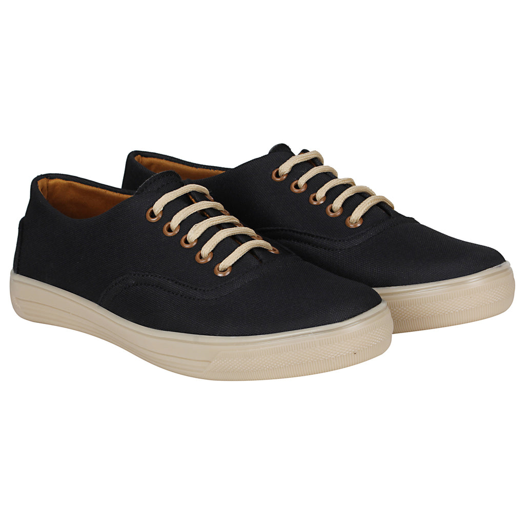 Kraasa 4179 Black Casual Canvas  Sneakers