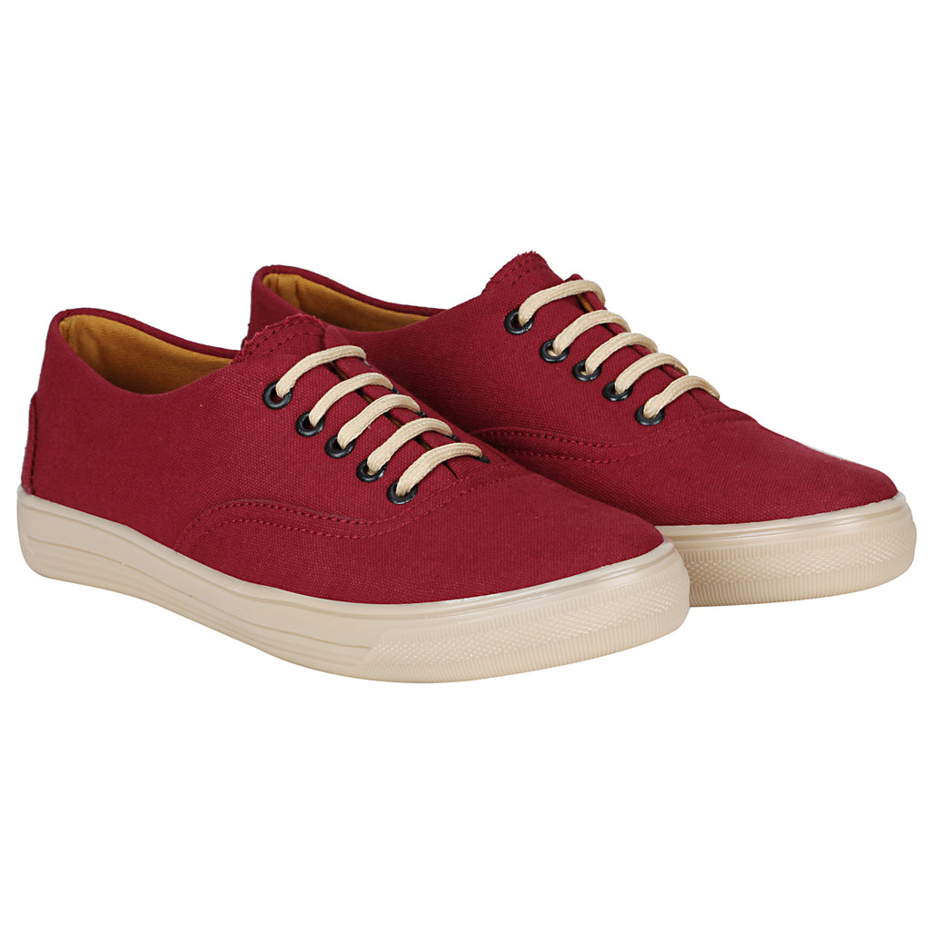 Kraasa 4179 Cherry  Casual Canvas  Sneakers