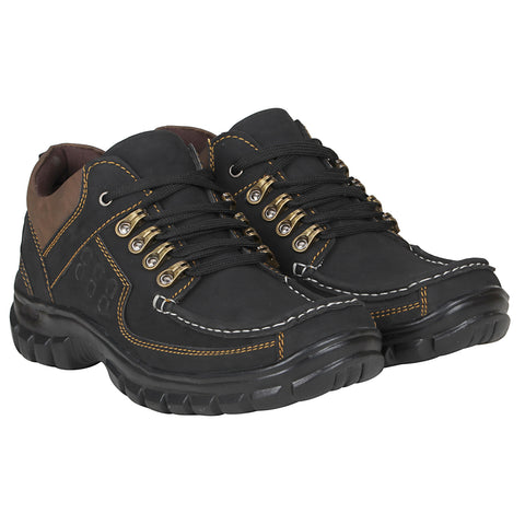 Kraasa 4180 Black Casual Men Boots