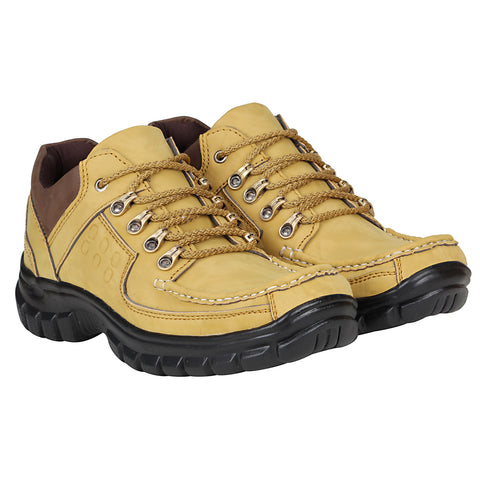 Kraasa 4180 Beige Casual Men Boots