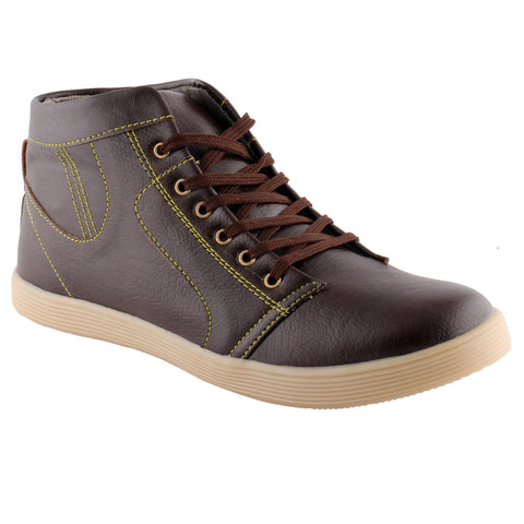 Kraasa 101 Brown Sneakers