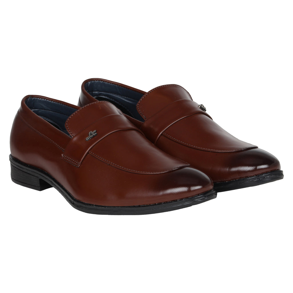 Kraasa 1078 Brown Formal Shoes