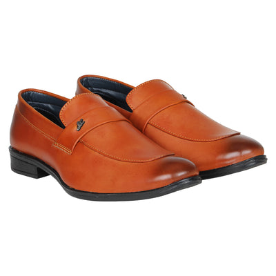 Kraasa 1078 Tan Formal Shoes