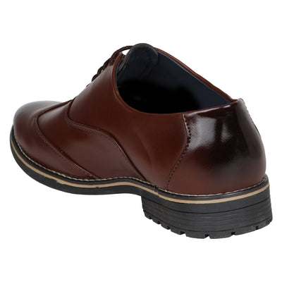 Kraasa 1079 Brown Formal Shoes