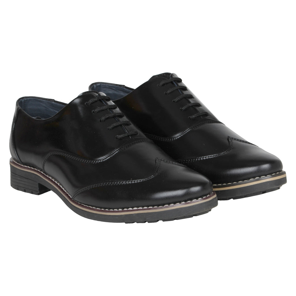 Kraasa 1079 Black Formal Shoes