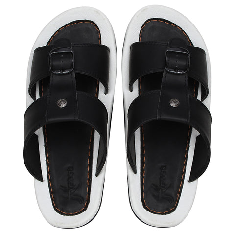 Kraasa 5165 BlackWhite Slippers