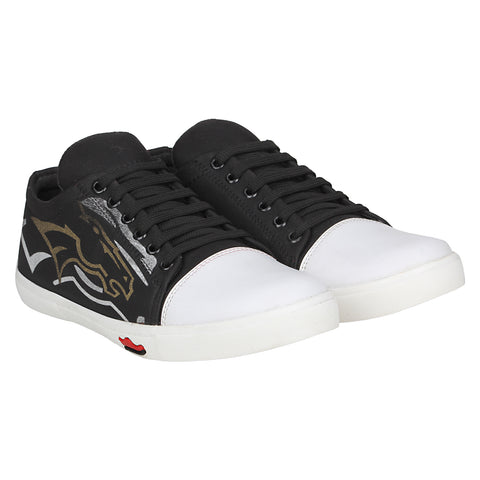 Kraasa 4123 Black Sneakers