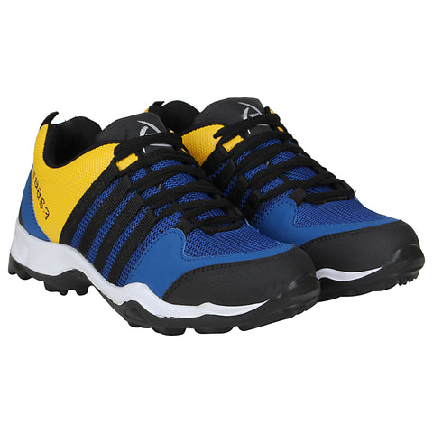 Kraasa 7072 BlackYellow Sports Shoes