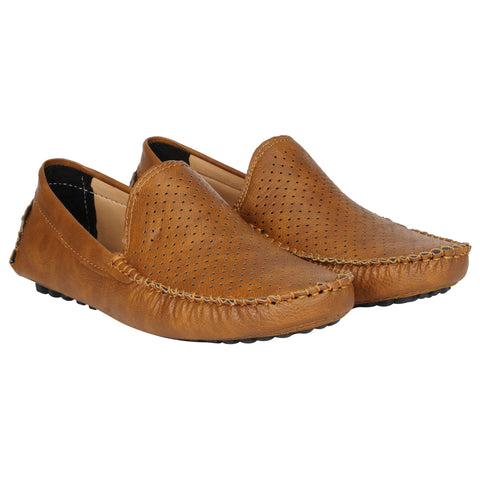 Kraasa 4151 Tan Casual Loafers