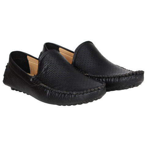 Kraasa 4151 Black Casual Loafers