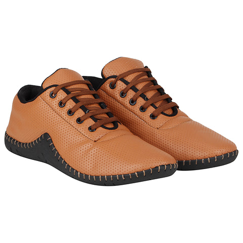 Kraasa 4184 Tan Casual Sneakers