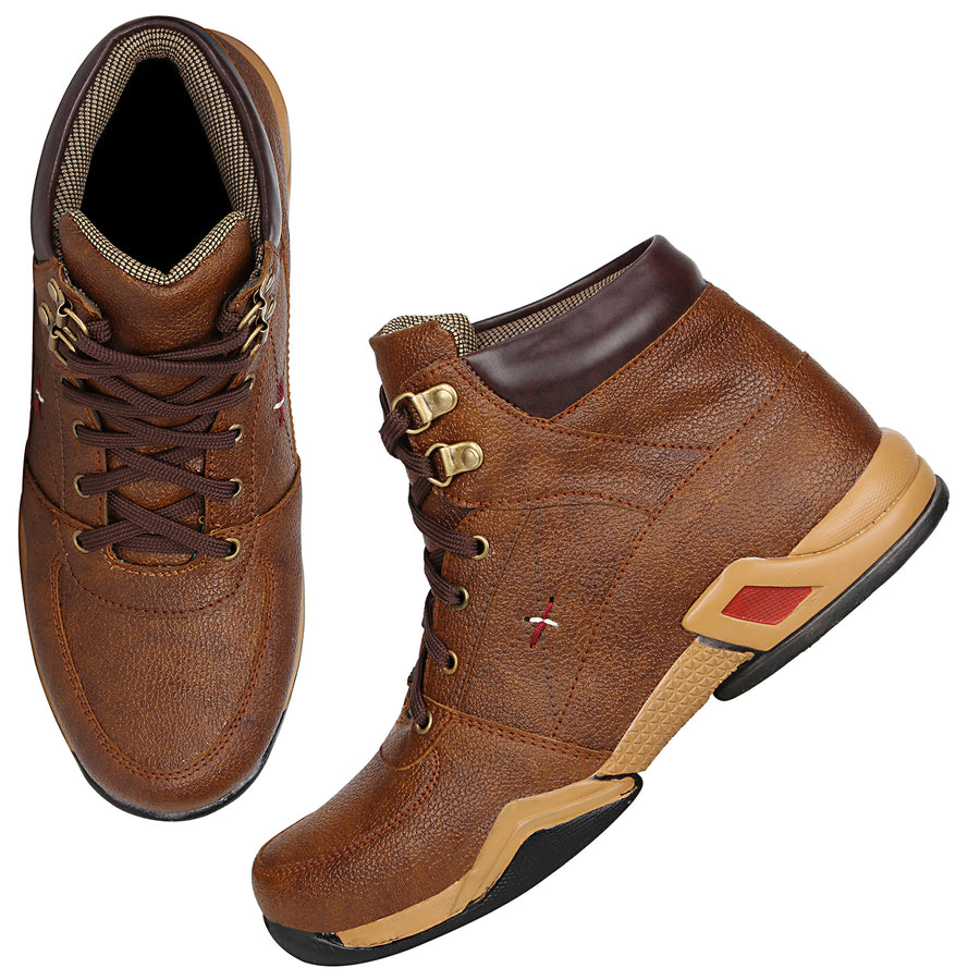 Kraasa 4130 Brown Boots