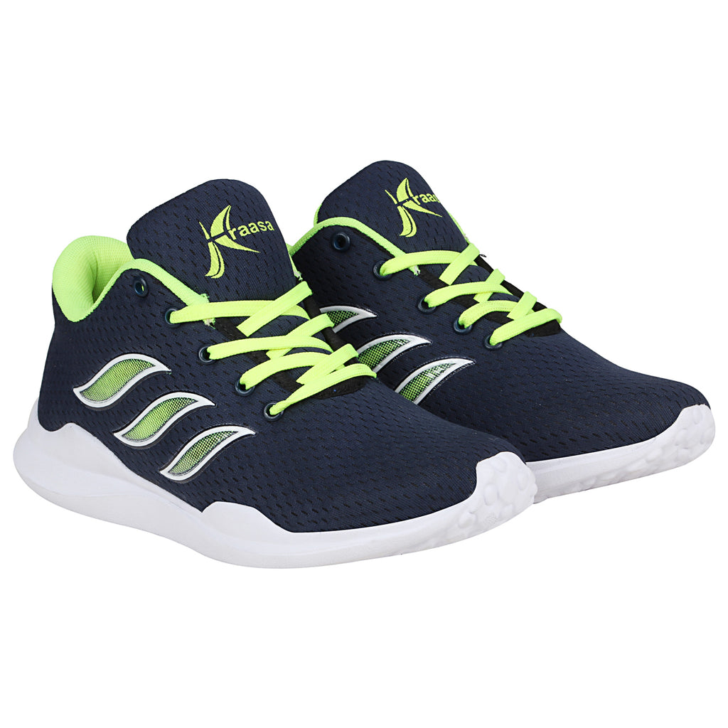 Kraasa-7073-Navygreen-Sports-Shoes