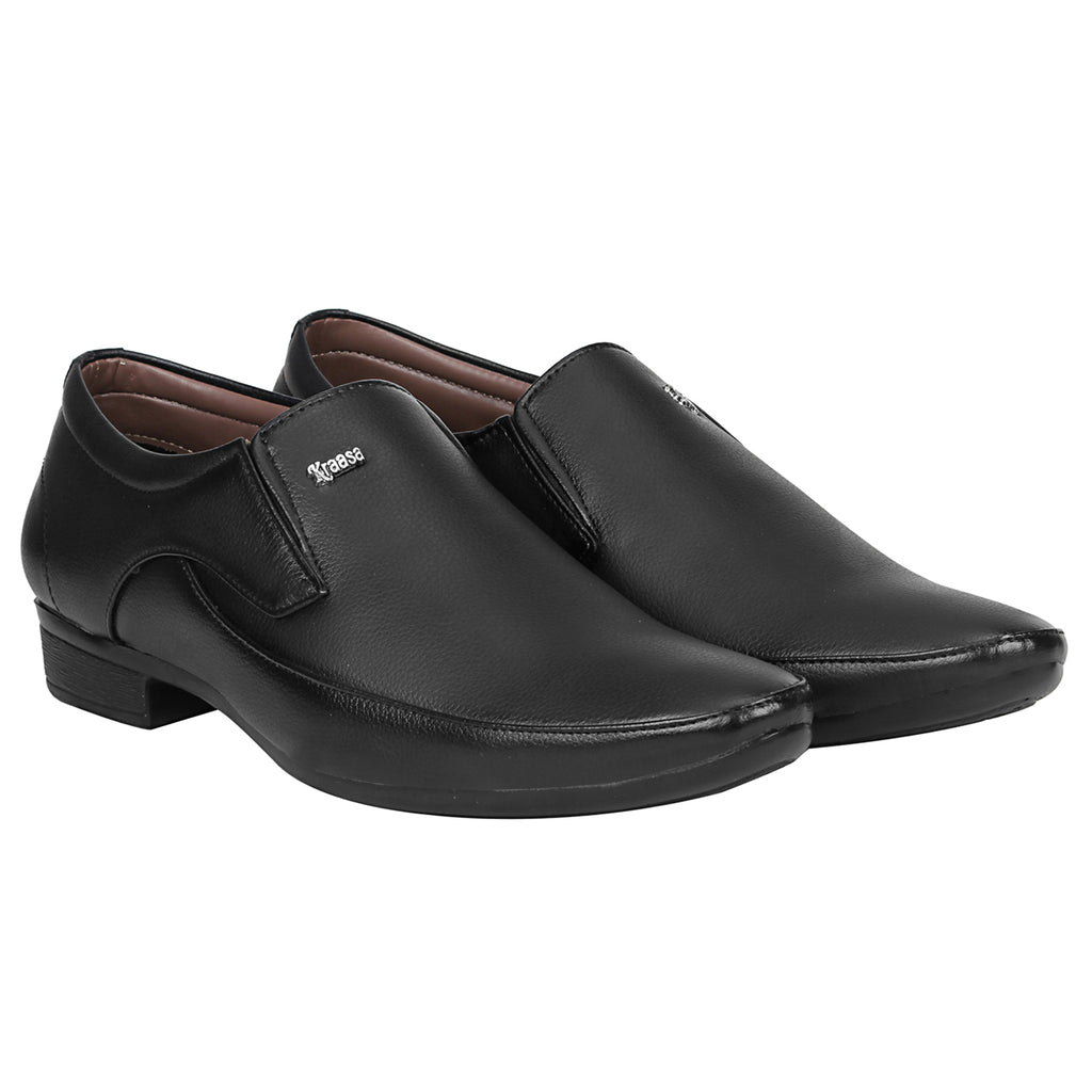 Kraasa 1085 Black Formal Shoes