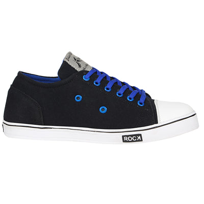 Kraasa 4186 BlackBlue Casual Canvas Sneakers
