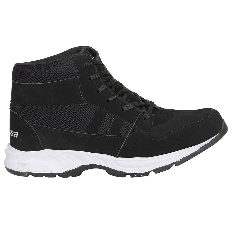 Kraasa 7050 Black Sports Running Shoes