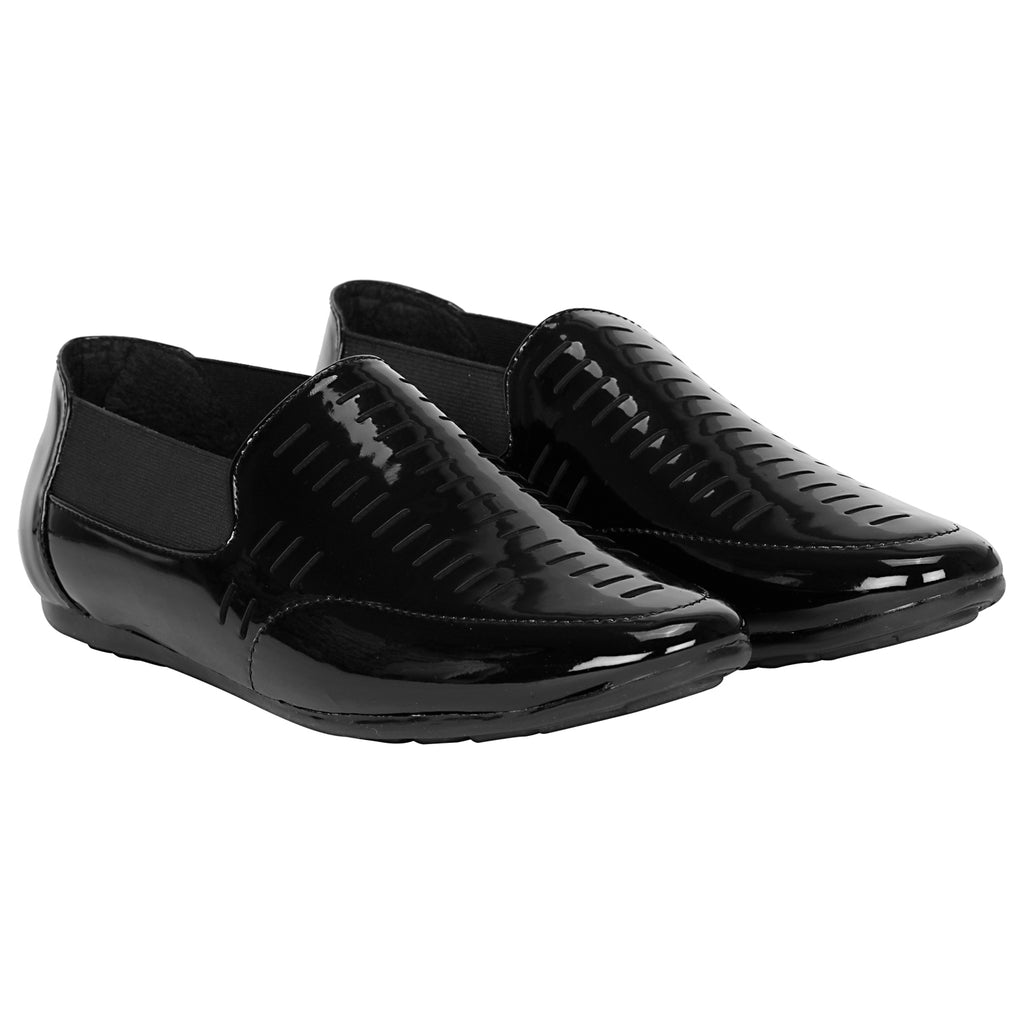 Kraasa 4027 Black Loafers