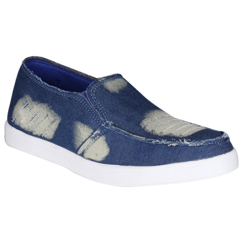 Kraasa 831 Blue Denim Canvas Shoes