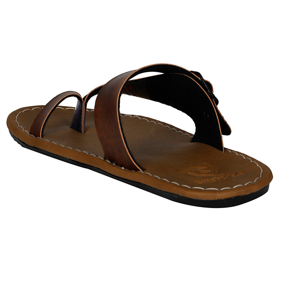 Kraasa 864 TAN Slipper