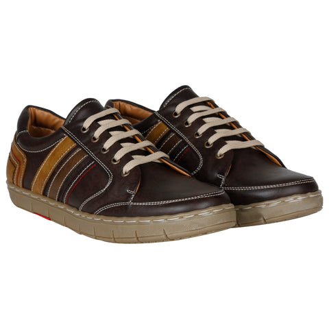 Kraasa 4107 Coffee Sneakers