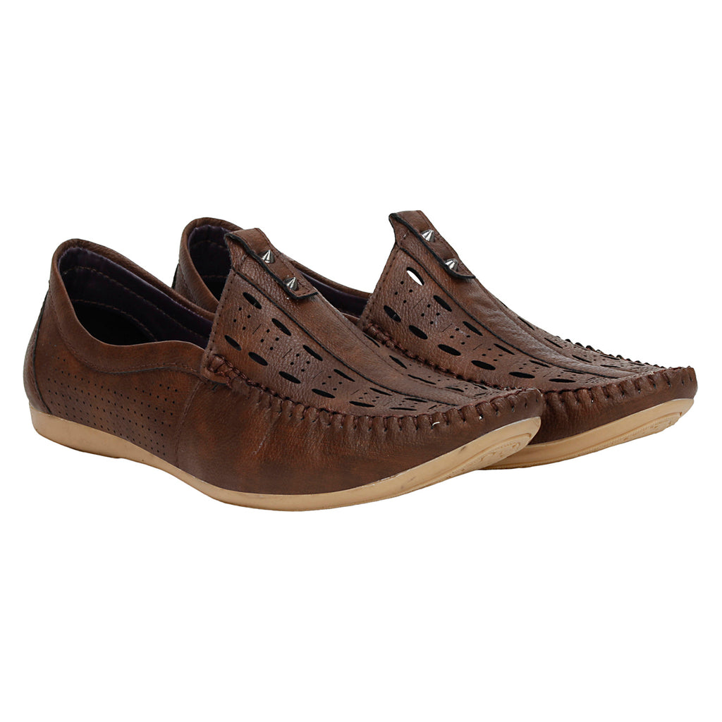 Kraasa 4073 Brown Loafers