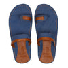 Kraasa 5141 BlueTan Casual Slippers