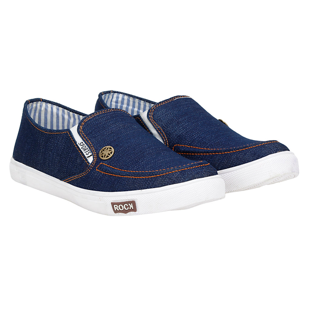 Kraasa 4081 Navy Canvas Shoes