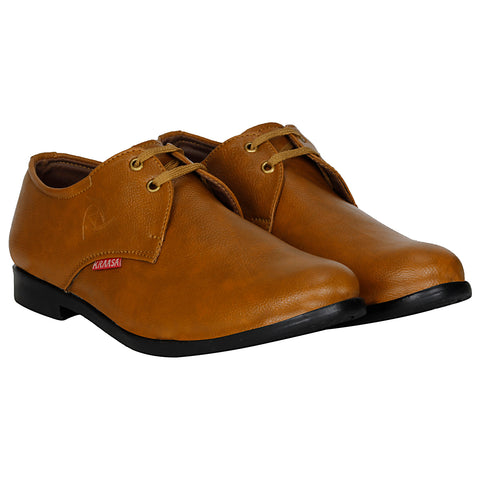 Kraasa 1034 Tan Formal Shoes