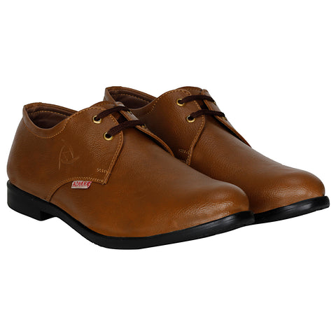 Kraasa 1034 Brown Formal Shoes