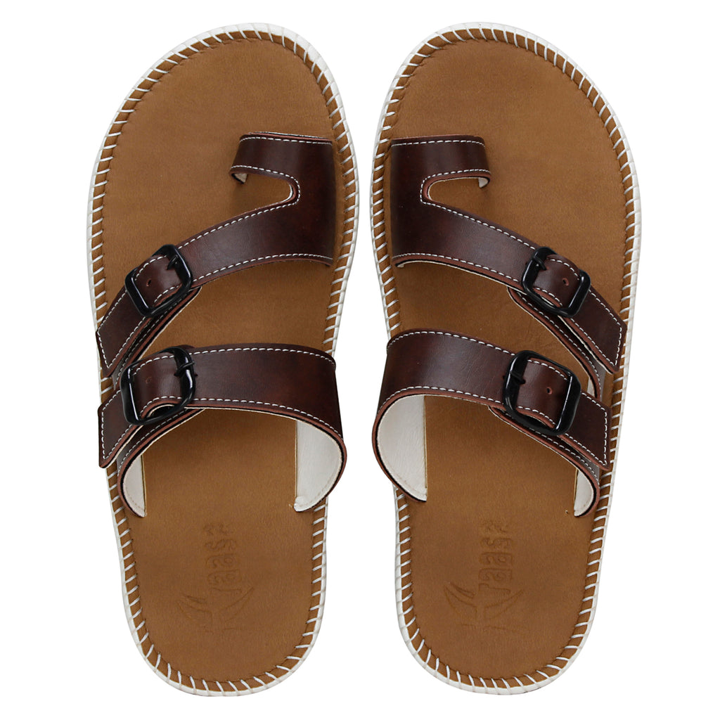 Kraasa 5149 Brown Slippers