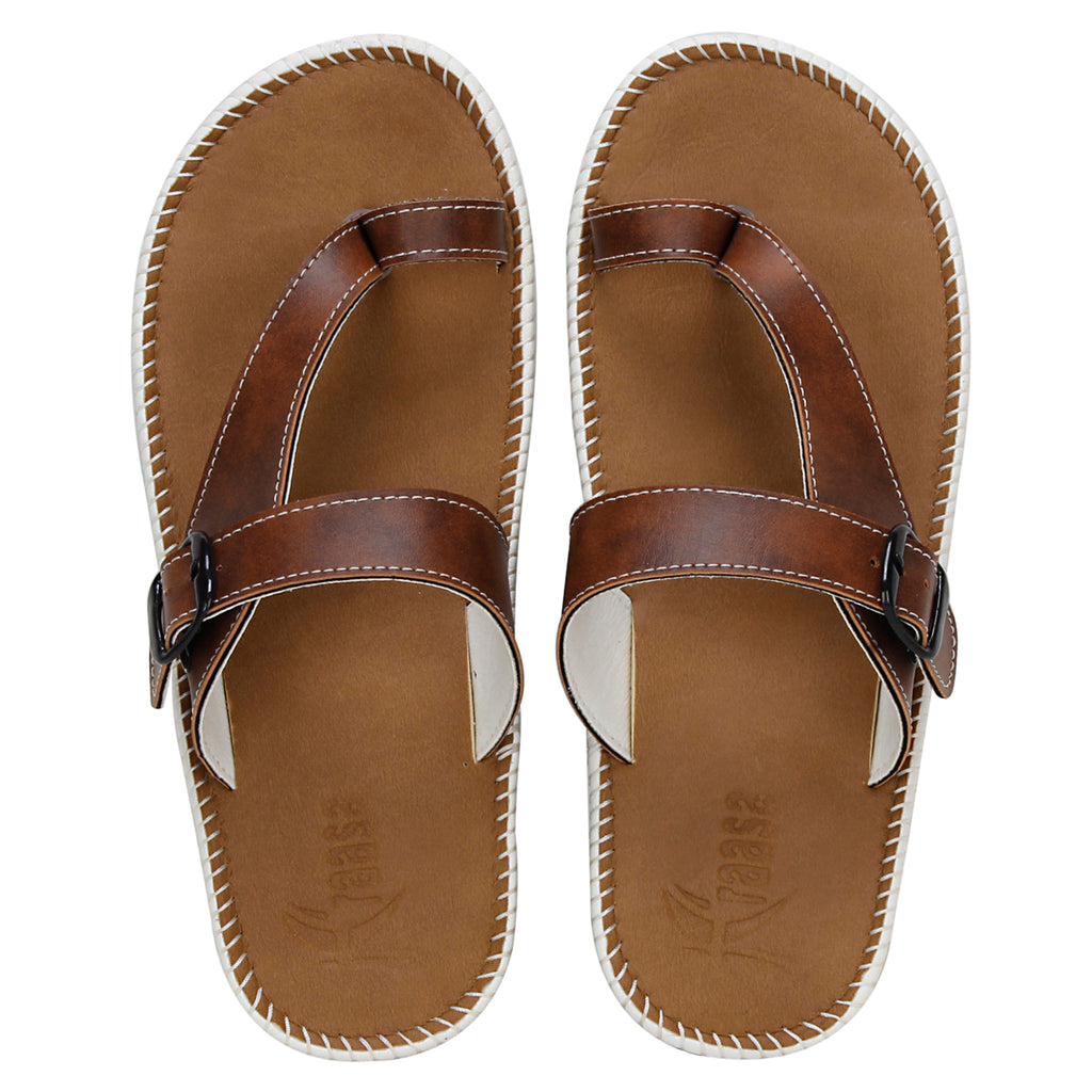 Kraasa 5152 Tan Slippers