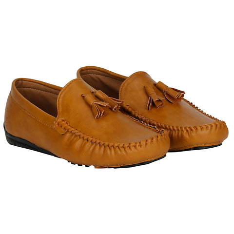 Kraasa 4028 Tan Loafers