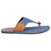 Kraasa 5139 BlueTan Casual Slippers
