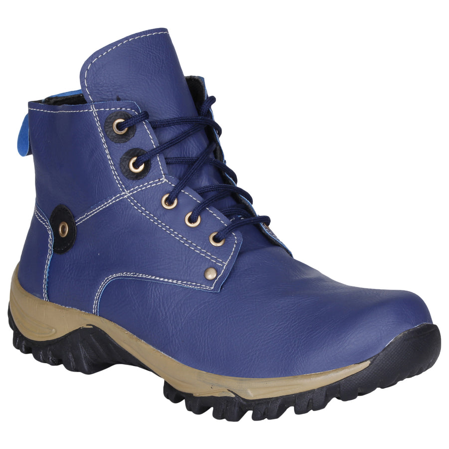 Kraasa 741 Blue Long Boots