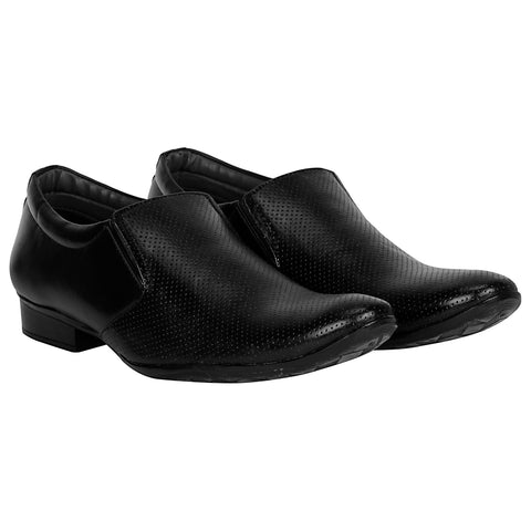 Kraasa 1036 Black Formal Shoes