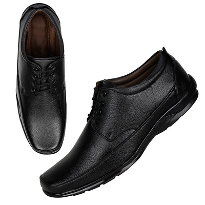 Kraasa 1037 Black Formal Shoes