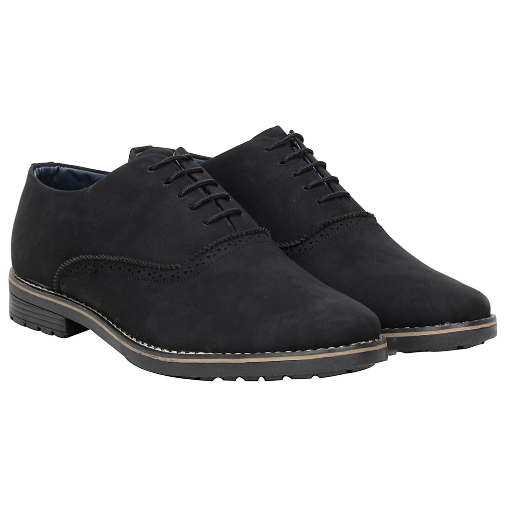 Kraasa 4090 Black Formal Shoes