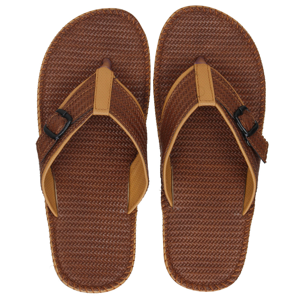 Kraasa 5144 TanCream Slippers